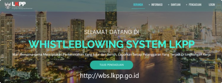 WHISTLEBLOWING SYSTEM LKPP